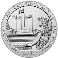 2010- 2019 America the Beautiful 5 oz Silver Coins