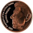 1 oz Copper Round - Ronald Reagan Design