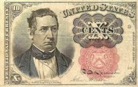 5th Issue 1874 10 Cents Fractional Currency - Fine or Better