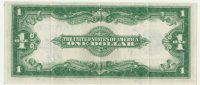 1923 $1.00 Silver Certificate - Large Type - Extremely Fine