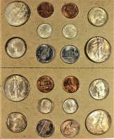 1947 U.S. Silver Mint Coin Set