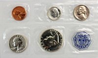 1955 U.S. Silver Proof Coin Set (Flat-Pack)