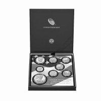 2019 Limited Edition Silver Proof Coin Set Open Box