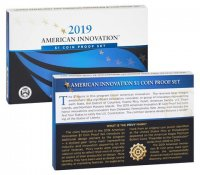 2019 American Innovation Dollar Proof Coin Set
