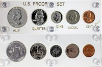 1953 U.S. Silver Proof Coin Set (New Capital Plastic Holder)