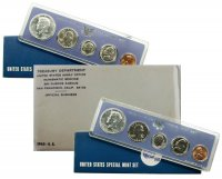 All 3 1965-67 U.S. Special Mint Coin Sets