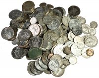 $100.00 Face Value U.S. 90% Silver Coins - Includes Half Dollars!