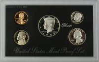 1993 U.S. Silver Proof Coin Set