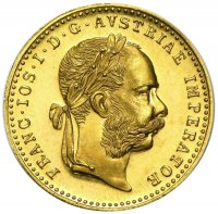 Austrian Gold One Ducat Coin - Brilliant Uncirculated