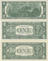 A Deuce, A Barr And A Star - 3 Piece Currency Set