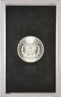 1881-CC Morgan Silver Dollar Coin - in GSA Holder - BU
