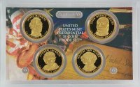2008 U.S. Presidential Dollar Proof Coin Set