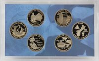 2009 District of Columbia & U.S. Territories Quarter Proof Coin Set