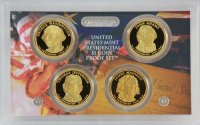 2007 U.S. Presidential Dollar Proof Coin Set