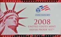 2008 U.S. Silver Proof Coin Set