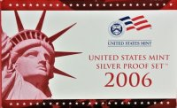 2006 U.S. Silver Proof Coin Set