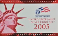 2005 U.S. Silver Proof Coin Set