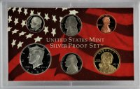 2004 U.S. Silver Proof Coin Set