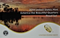 2014 America the Beautiful Quarters Proof Coin Set - Wholesale Price!