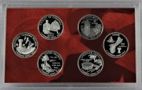 2009 District of Columbia & U.S. Territories Silver Quarter Proof Coin Set