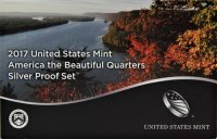 2017 America the Beautiful Silver Quarters Proof Coin Set