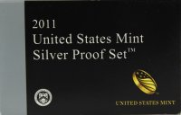 2011 U.S. Silver Proof Coin Set