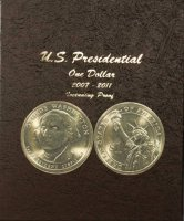 2007-2016 117-Coin Complete Set of Presidential Dollars - BU w/ Proofs