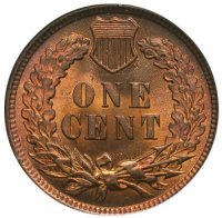 Indian Head Cent Coin - Choice BU (Red & Brown)