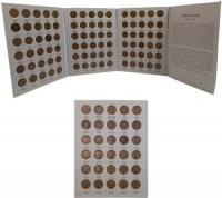 1909-1940 90-Coin Lincoln Wheat Cent Coin Set - XF or Better