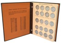 1916-1947 65-Coin Complete Set of Walking Liberty Silver Half Dollars - F-XF