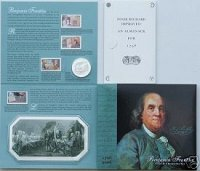 2006 Benjamin Franklin Coin & Chronicles Set