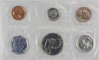 1960 U.S. Silver Proof Coin Set (Flat-Pack) - Small Date Penny