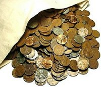 1909-1958 1,000-Coin Lincoln Wheat Cent Coin Bags - Superior Mix of Dates!