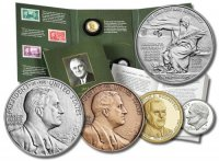 2014 Franklin D. Roosevelt Coin & Chronicles Set