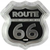 1 oz Silver - Icons of Route 66 Shield Series - Illinois Gemini Giant