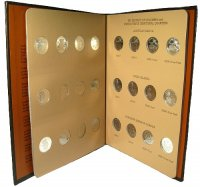 2009 24 Coin D.C. & U.S. Territories Quarters Complete Set - Includes All Proofs!