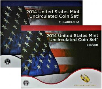 2014 U.S. Mint Coin Set