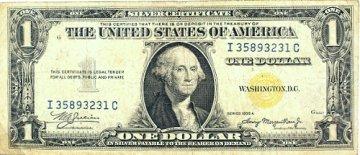 1935-A $1.00 North Africa Silver Certificate - Fine