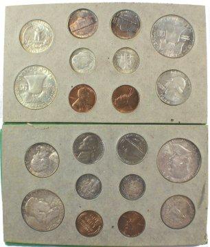 1953 U.S. Silver Mint Coin Set