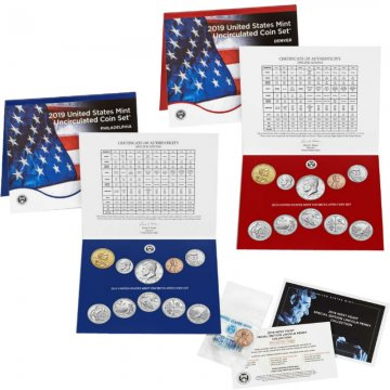 2019 U.S. Mint Coin Set - Includes 2019-W Lincoln Cent!