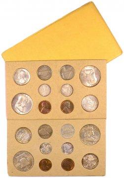 1957 U.S. Silver Mint Coin Set