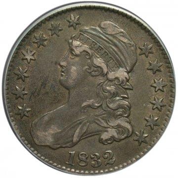 Early 1800's Bust Silver Half Dollar Coin - Random Dates - XF