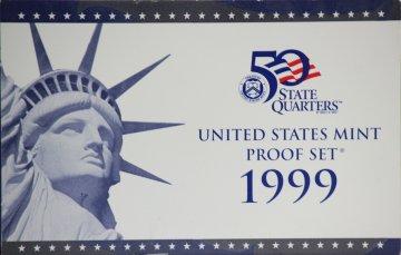 1999 U.S. Proof Coin Set