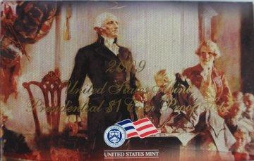 2009 U.S. Presidential Dollar Proof Coin Set