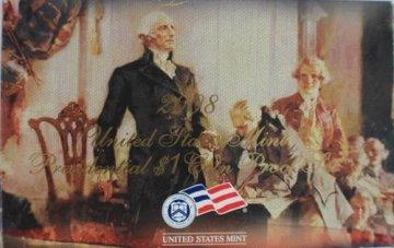 2008 U.S. Presidential Dollar Proof Coin Set