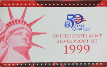 1999 U.S. Silver Proof Coin Set