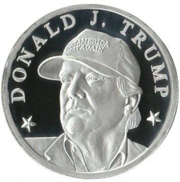 Donald Trump 1 oz Silver Make America Great Again Rounds