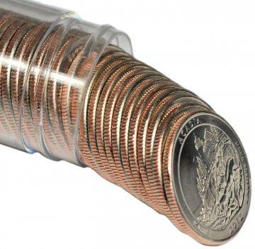 2012 Acadia P or D Mint Quarter Rolls