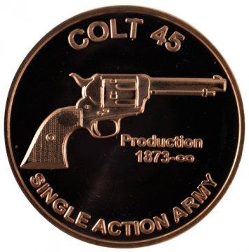 1 oz Colt .45 Copper Round
