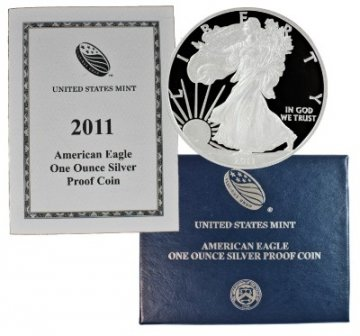 2011-W 1 oz American Proof Silver Eagle Coin - Gem Proof